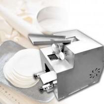 เครื่องทำแผ่นเกี๊ยว รุ่น 1810 Automatic Dumpling Wrappers Machine กำลังไฟ 250W 220V น้ำหนักเครื่อง 65 กิโลกรัม